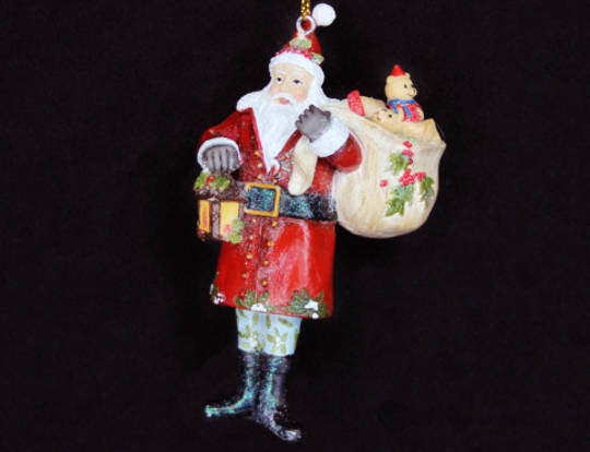 Hanging Resin Toy Factory Santa