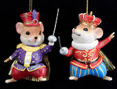 Hanging Resin King/Soldier Mouse