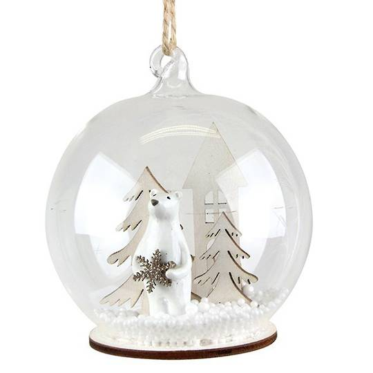 GlassBall with Polar Bear Inside
