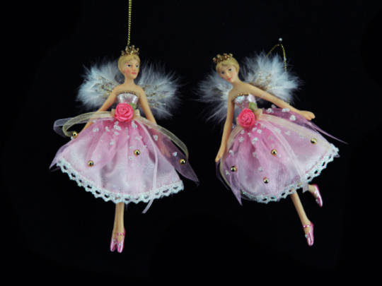 Resin Fairy Princess Pink Sml