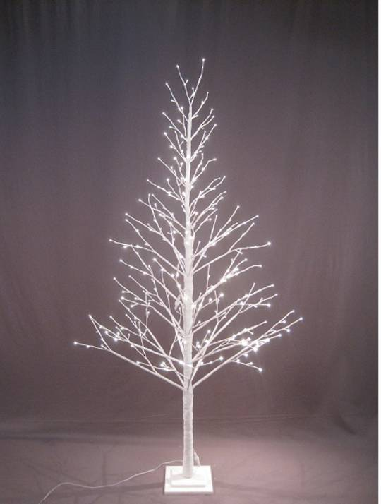 White Twig Tree 2.1mtr with LED Lights