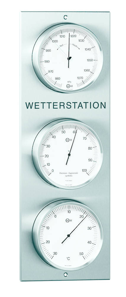 BM Outdoor Weather Station, White Dial