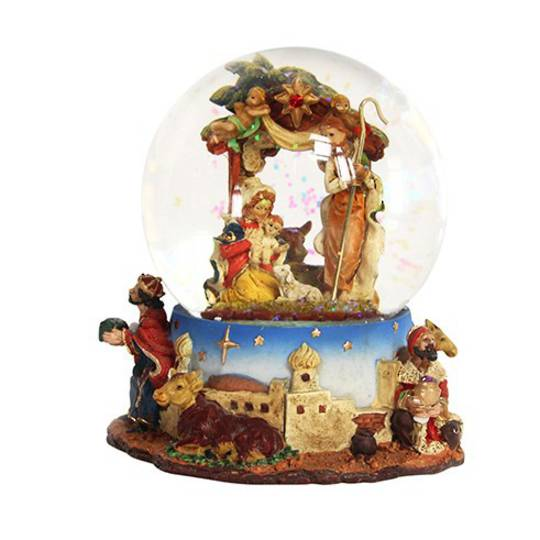 Musical SnowGlobe, Nativity Scene