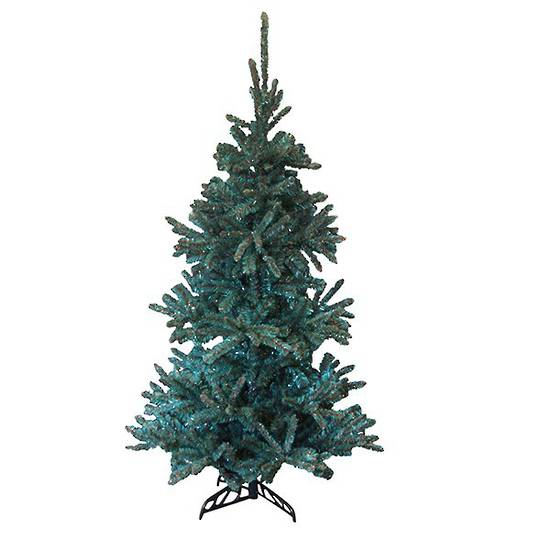 Tinsel Tree Turquoise/Copper