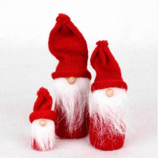 Mini Knit Red St Nicolas