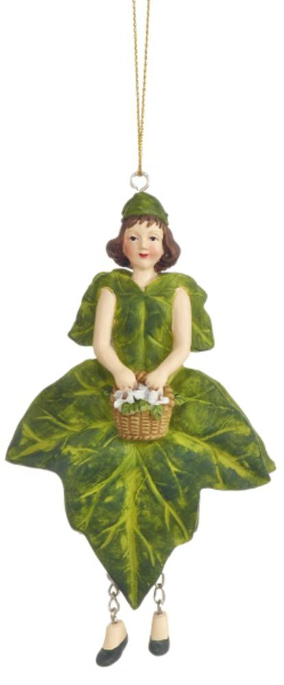 Hanging Flower Girl Ivy Green 13cm