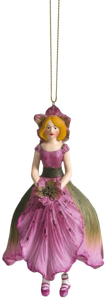 Hanging Flower Girl Christian Rose Old Rose 11cm