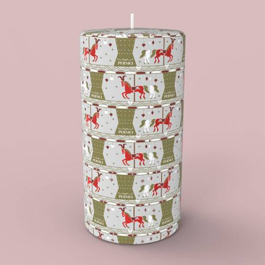 Magic Carousel Candle