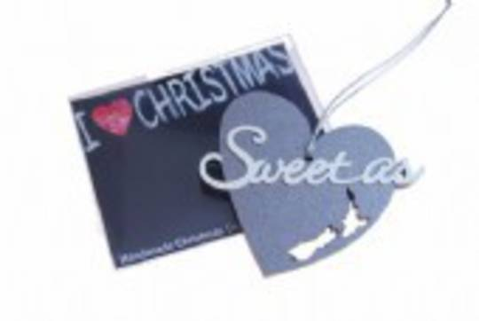 Hanging I Love Christmas, Sweet As