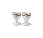StarFluted Christmas Egg Cups (pair)