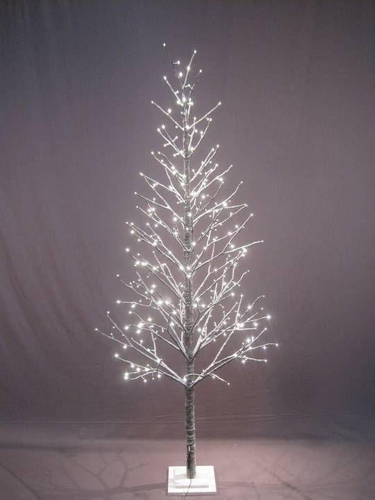 Snow Covered Twig Tree 2.1mtr with LED Lights