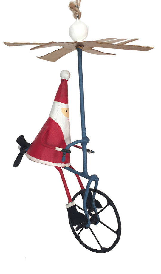 Santa on AirBike SOLD OUT