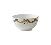 StarFluted Christmas Deep Serving Bowl