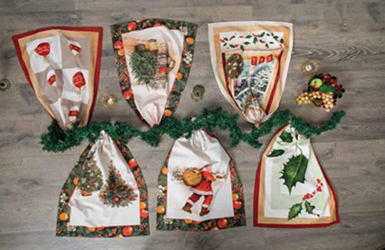 Country Christmas Tea Towel
