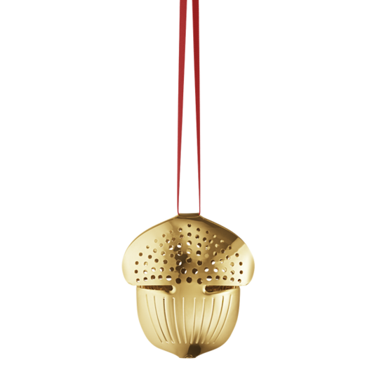 Georg Jensen Annual Christmas Holiday Ornament 2018, Acorn