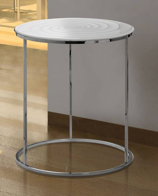 IVV Arredi Table, White Spiral Top