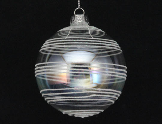 Glass  Soap Bubble/ Iridescent Astral Ball 8cm