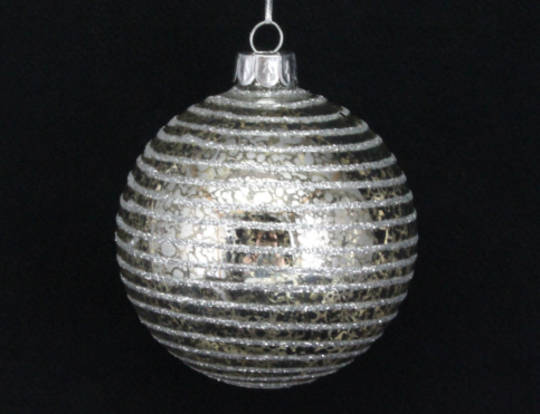 Glass Antique Astral Ball 8cm