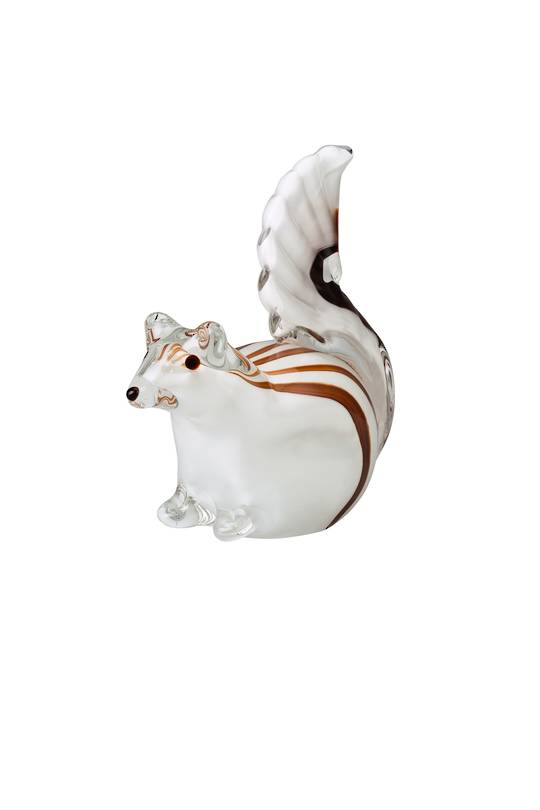 Hutsch. Glass Squirrel 12cm