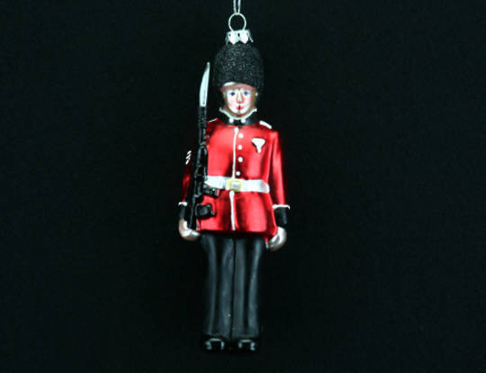 Glass Soldier 15cm