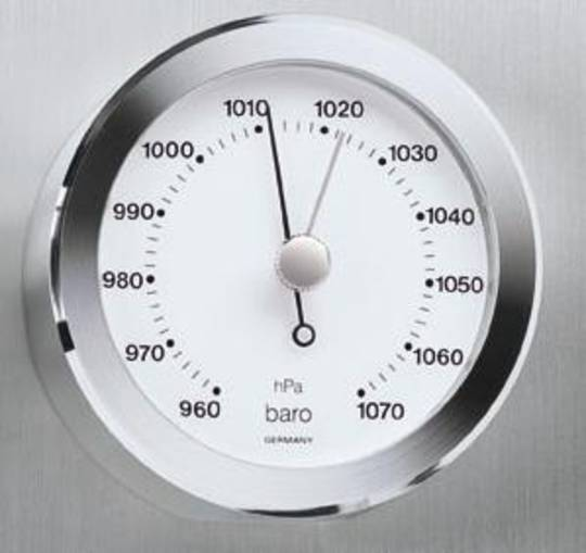 BM Living Mini Barometer & Clock. Set 2