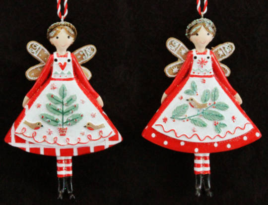 Hanging Resin Nordic Yule Fairy