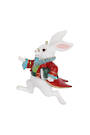 Hanging Resin White Rabbit