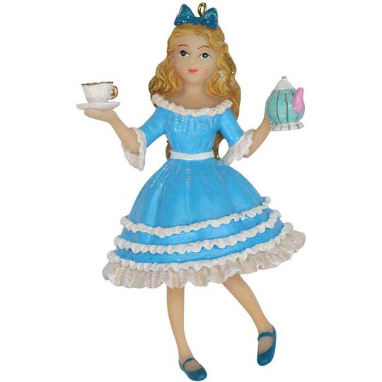 Hanging Resin Alice in Wonderland 11cm