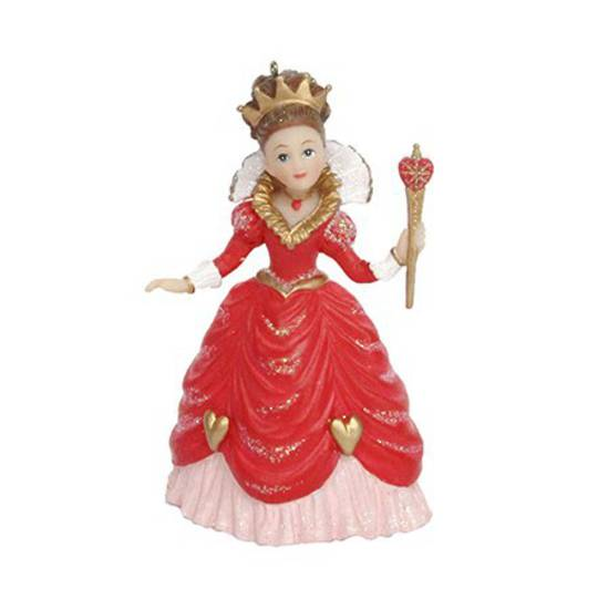 Hanging Resin Queen of Hearts