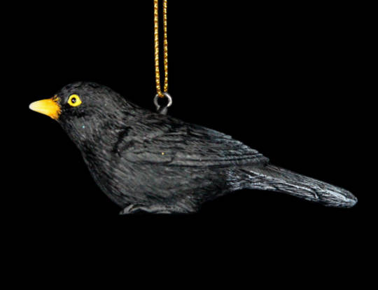 Hanging Resin BlackBird