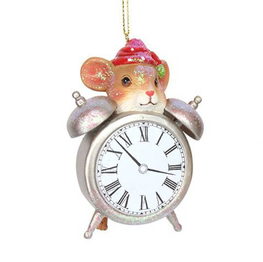 Resin Mouse with Alarm Clock SOLD OUT