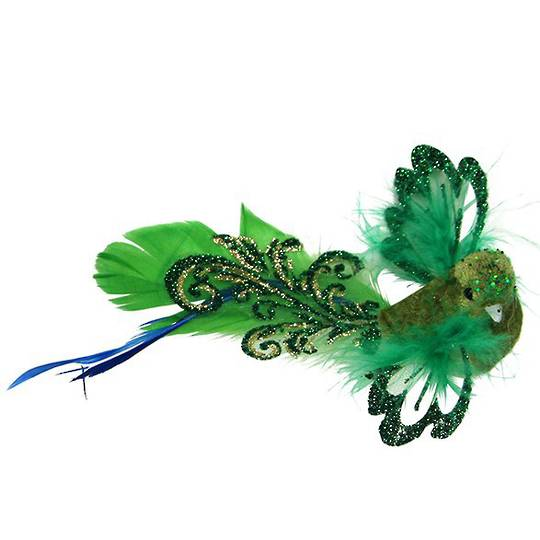 Clip, Green Feather Flying Bird