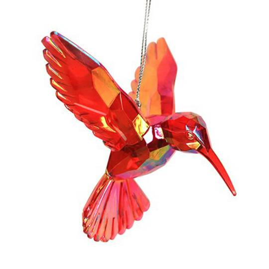Acrylic Red Humming Bird