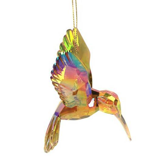 Acrylic Amber Humming Bird