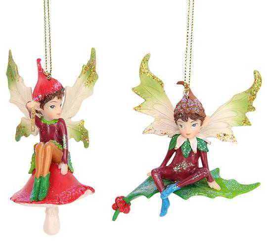 Resin Woodlands Sitting Pixie SOLD OUT