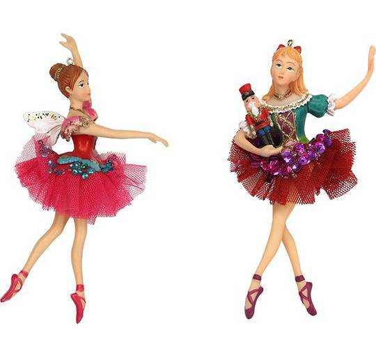 Resin Russian Nutcracker Ballerina 14cm