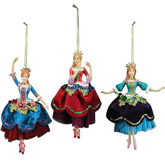 Resin Russian Nutcracker Princess