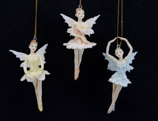 Hanging Resin Pastel Fairy