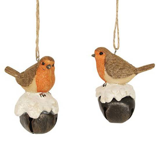 Resin Robin on Tin Bell