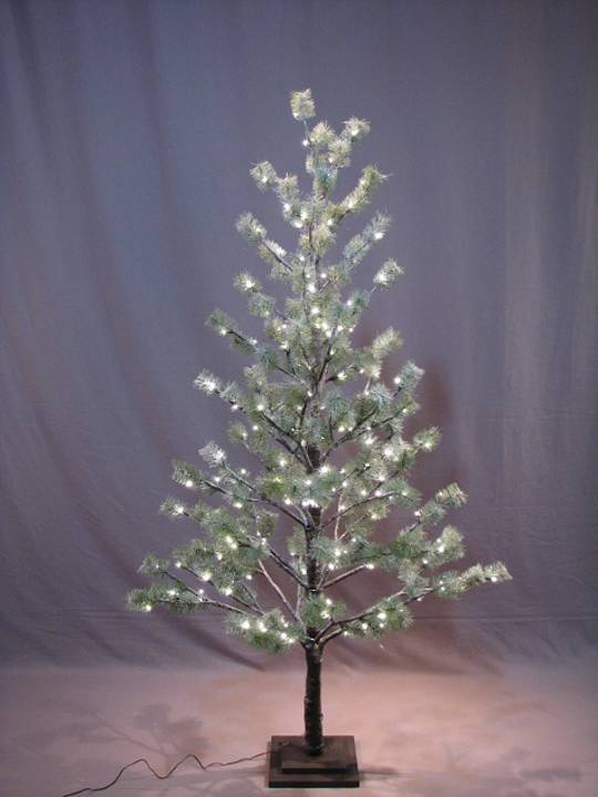 Icey Pine Tree 1.8mtr with 186 LED Lights