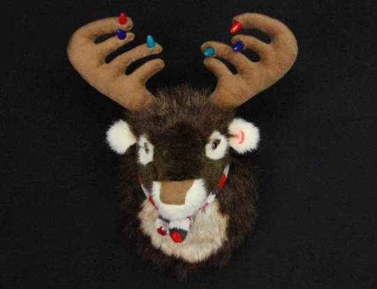 Plush Deer Head with Lights and Festive Tune SOLD OUT