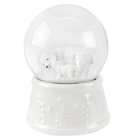 Musical SnowGlobe Polar Bear