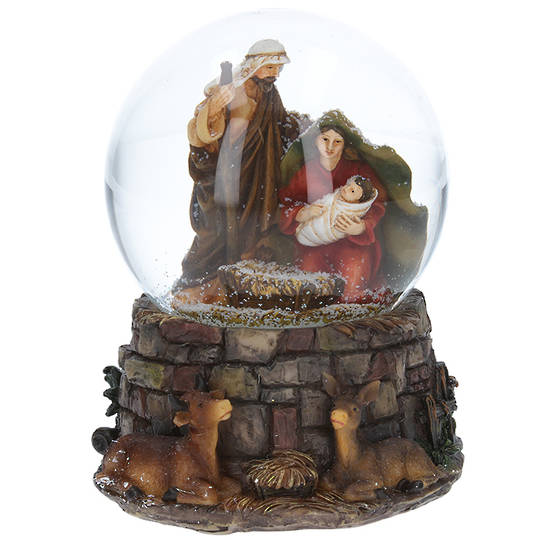 Musical SnowGlobe, Nativity Stable