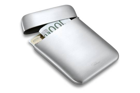Corporate, Metal Business Card Holder