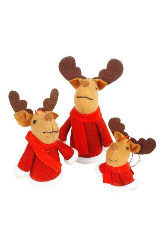 Rudi the Reindeer 3 sizes