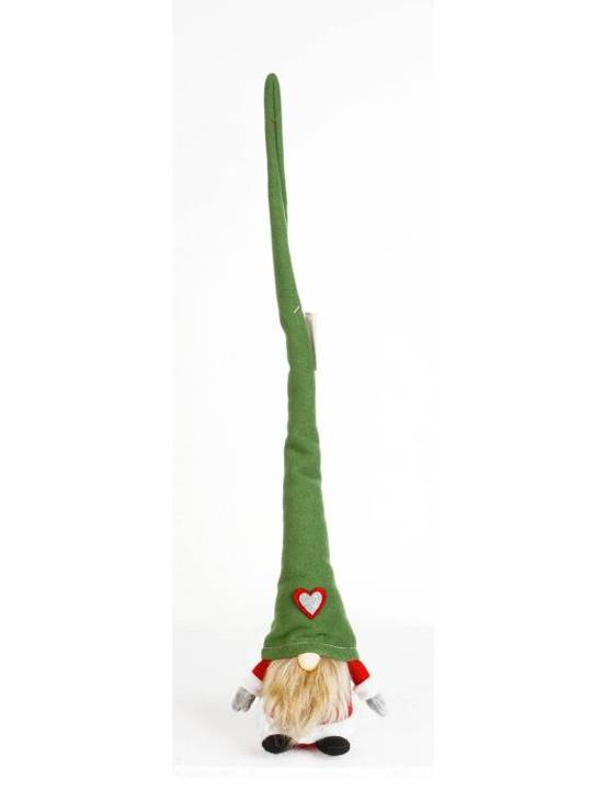 Plush Tall Hat Green Amore Santa