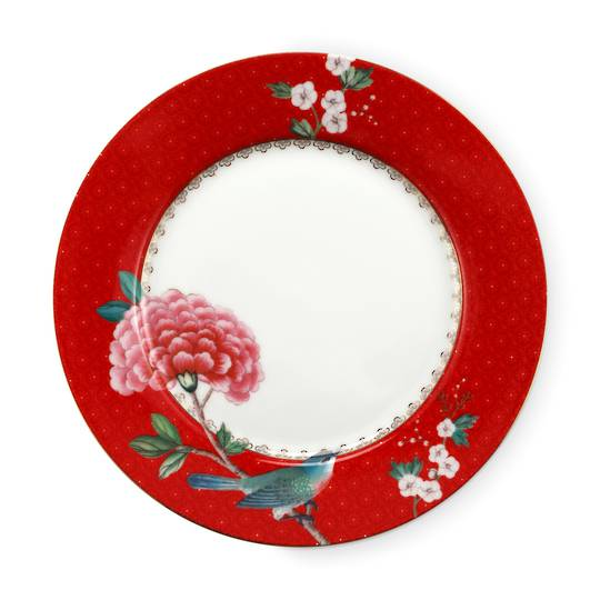 Blushing Birds Small Plate 21cm