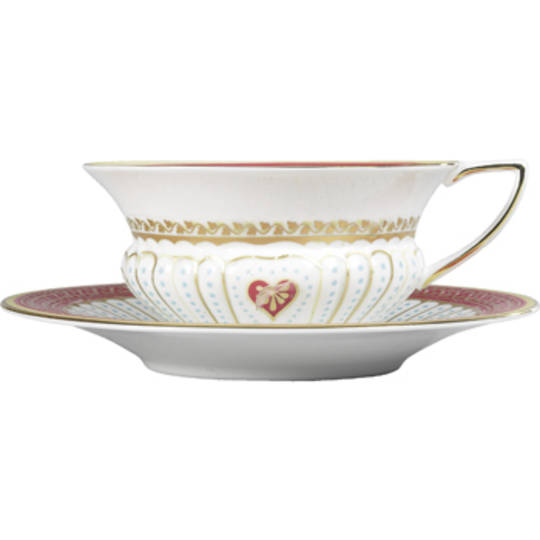 Wedgwood Queen of Hearts Cup & Saucer
