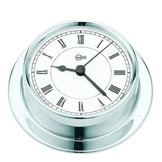 BM Marine Tempo Chrome, Clock, Thermometer & Hygrometer. Set 3