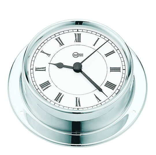 BM Marine Tempo Clock, Chrome
